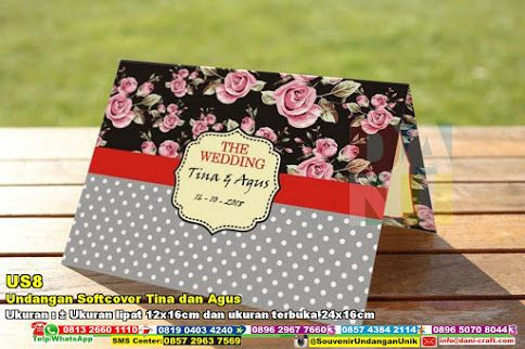 Undangan Softcover Tina Dan Agus WA / TELP 0896 5070 8044 BBM 5B 367 E9A EMAIL info@dani-craft.com  #UndanganSoftcover #DistributorSoftcover #souvenirMurah