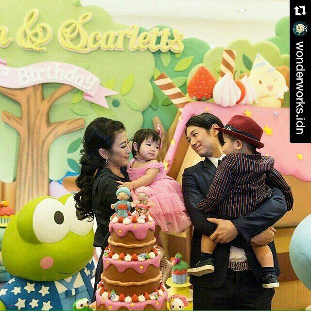 Dean Fujioka and family