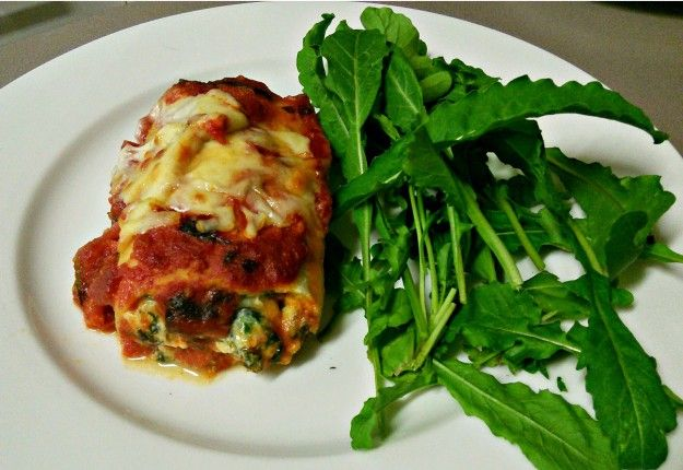 Three Cheese Spinach Lasagne Roll Ups - Real Recipes from Mums