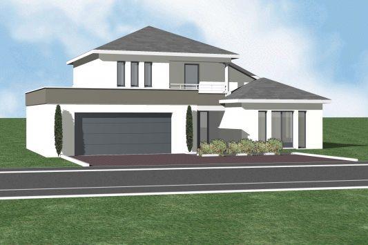 maison toit 4 pentes recherche google id es. Black Bedroom Furniture Sets. Home Design Ideas