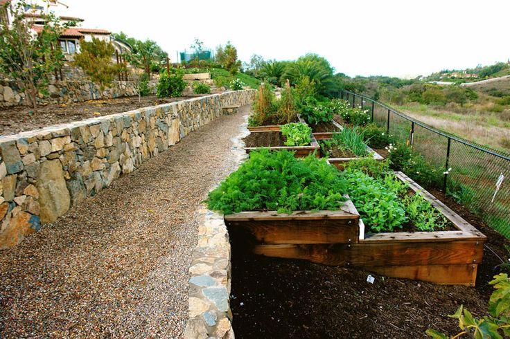 How To Turn A Steep Backyard Into A Terraced Garden   http://www.designrulz.com/design/2014/09/turn-steep-backyard-terraced-garden/