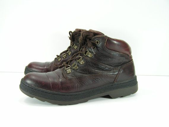 timberland hiking boots womens 8.5 m b brown by cheapgrannyboots, $59.99