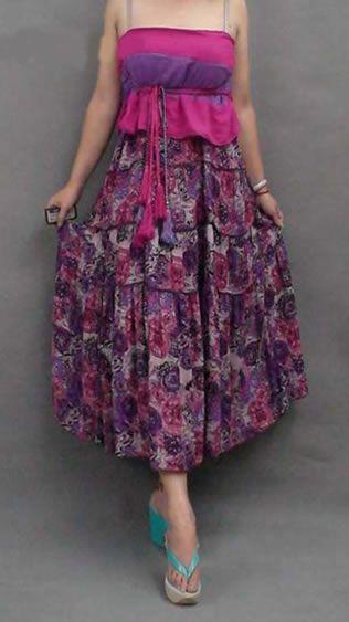 www.trend-bazaar.com store media Bohemian-Floral-Skirt-Pink-4.jpg