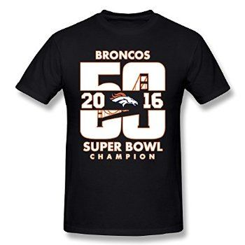 #Christmas Purchase for Men's Tee-Particular Denver Broncos 2016 Super Bowl Final Game Black SizeXS for Christmas Gifts Idea Shoppers . On the internet searching for excellent Christmas   gifts generally is a really enlightening expertise, along with a variety of not simply private gifts but also distinctive gifts. The most beneficial...
