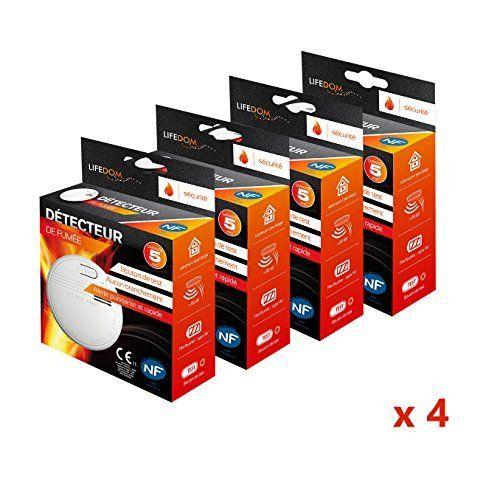 Lifedom - Détecteur de fumée NF & EN14604- Garantie 5 et livré avec pile et accessoires (4): Cet article Lifedom - Détecteur de fumée NF &…