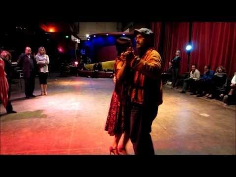 Tango Lesson: When Back Sacadas Go Bad