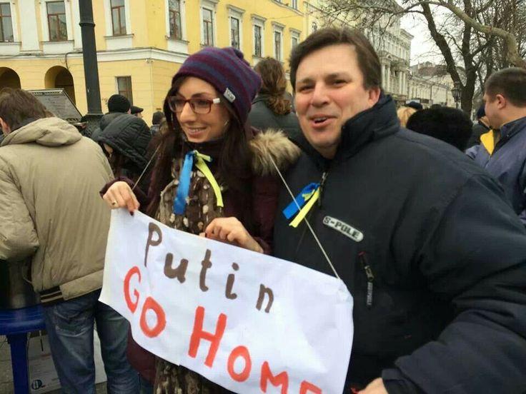 Odessa, Ukaine 3 marth 2014