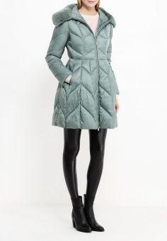 Куртка утепленная, Clasna, цвет: зеленый. Артикул: CL016EWNLX70. Женская одежда / Верхняя одежда / Пуховики и зимние куртки