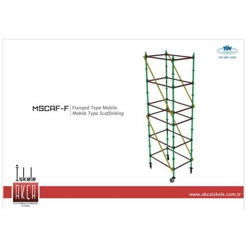 Flanged Type Mobile Scaffolding