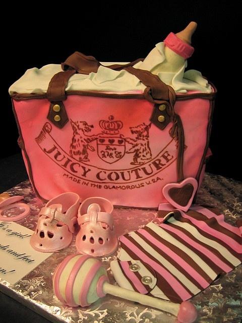 Juicy baby bag cake new by debbiedoescakes, via Flickr