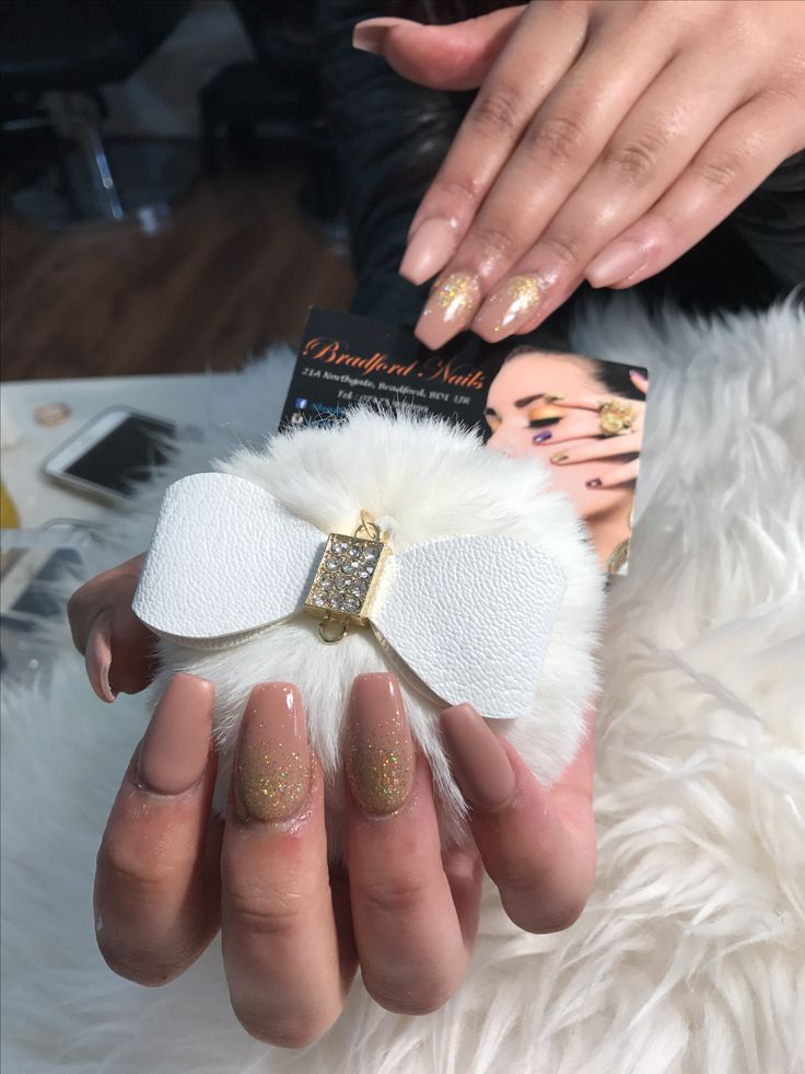 Prom nails for 16 girl this Friday Matte mix glossy Nude matte mix nude glossy multicolour gold glitter sugar coat ombré style in coffin shape ☘️No extra charge on matte ☘️No hidden charge for coffin shape