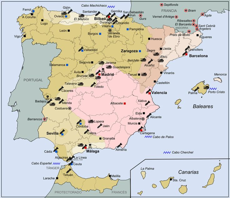 Best Maps Of Spain Images On Pinterest Maps Spain And - Spain historical map