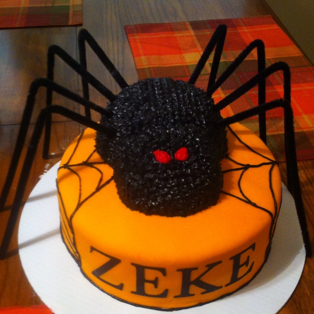 17 best cute cake ideas images on Pinterest Conch fritters - halloween birthday cake ideas