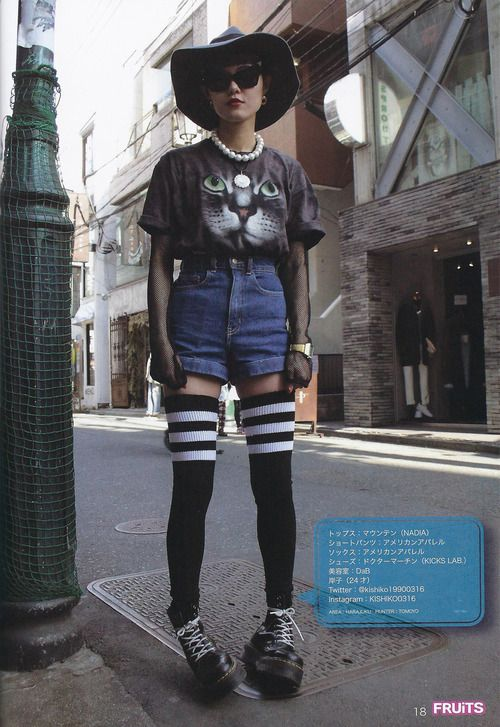 Fruits magazine | Japanese | street style | fashion