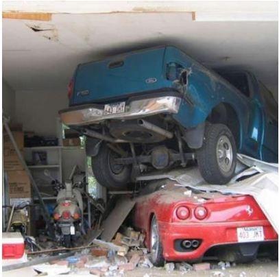 8 Best Garage Door Accidents Images On Pinterest Crazy Pictures