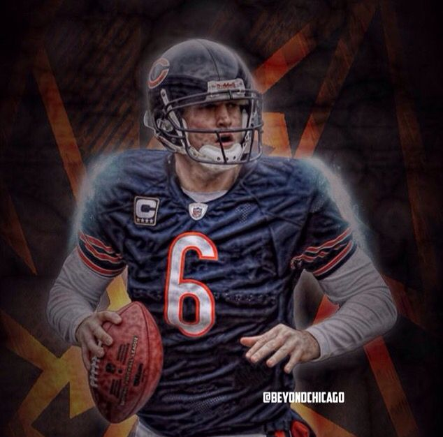 Jay Cutler was named the Bears MVP of the season. His total QBR went way up from years past!