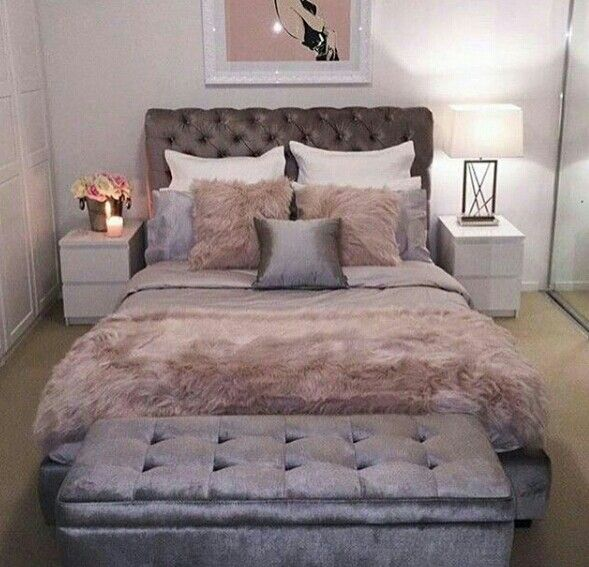 Beautiful girly bedroom