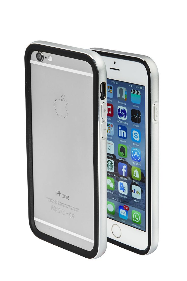 Cover iPhone 6  silver by Skycover2015 only on http://www.ebay.it/usr/skycover2015