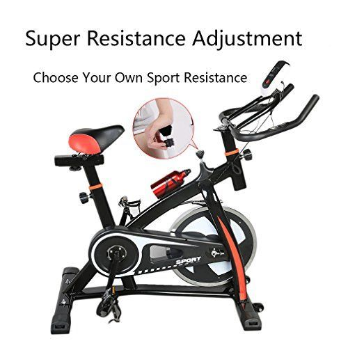 Cardio Workout LOT 2017 Exercise Bike Indoor compact exercise bike Cycling Fitness Stationary Bicycle home exercise equipment stationary bike *** Be sure to check out this awesome product.