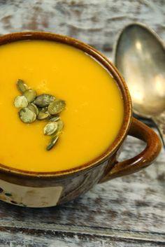 Zupa krem dyniowo-marchewkowa
