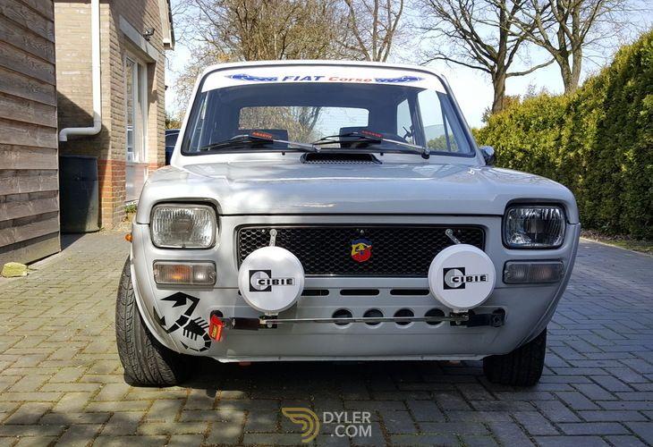 Fiat 127 Abarth Hatchback 1977 Grey Abarth 80393 Con Imagenes