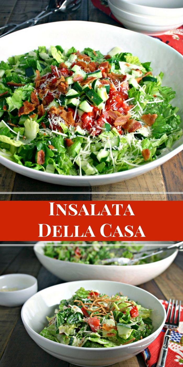 Insalata Della Casa | Life, Love, and Good Food #salad
