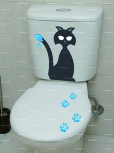 Stickers WC chat qui peint  http://www.idzif.com/idzif-deco/stickers-deco/stickers-wc/produit-stickers-wc-chat-qui-peint-5898.html