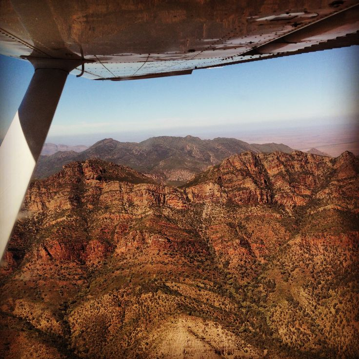Wilpena Pound; Image by Margaret Hage; I strongly suggest that if visitors to this region of the Flinders Ranges, South  Australia can, they do a scenic flight it is the best way to have a full perspective of the wonder of these most ancient ranges. The are considered amongst the oldest in the world.