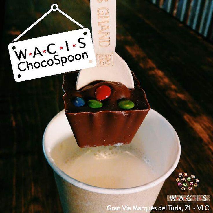 Estamos de REBAJAS en WACIS. Hasta el 31 de Enero a todos los que compréis un WACIS PACK para llevar os regalamos una CHOCOSPOON #rebajas #wacischocospoon #valencia #wacistakeaway