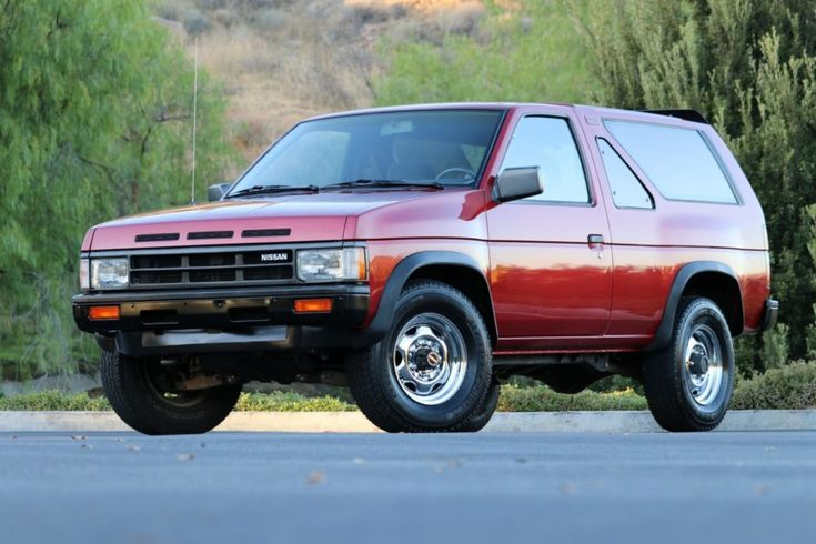No Reserve 1988 Nissan Pathfinder 2 Door 5 Speed 4 4 Nissan Pathfinder Nissan Classic Cars Online