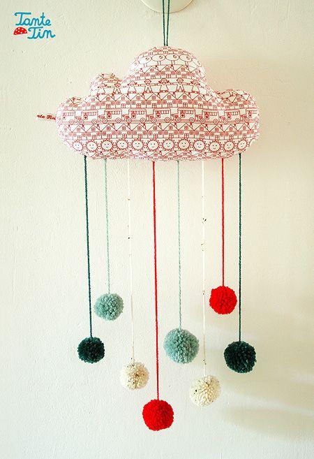 DIY ~ Pom Pom Cloud