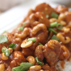 Have dinner waiting for you! Slow Cooker Cashew Chicken