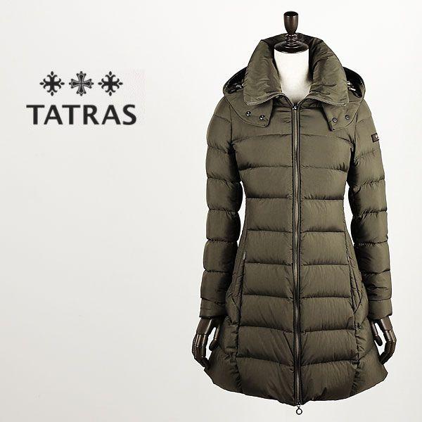 【楽天市場】TATRAS タトラス レディース ナイロン ロングダウンジャケット POLITEAMA LTA16A4496 (モカ) 【レビューを書いて送料無料】:ラグラグマーケット