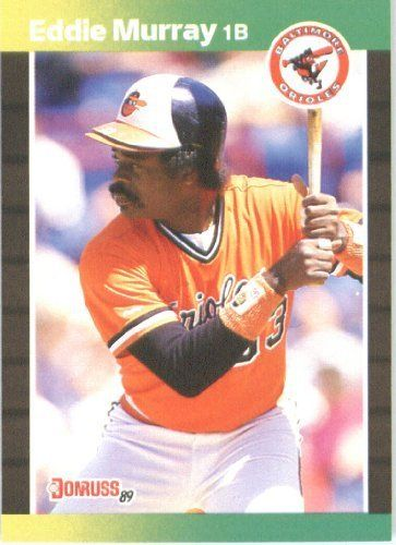 e616fa064b9 ... jersey number 33 . 1989 Donruss 96 Eddie Murray Baltimore Orioles  Baseball Card by Donruss. 2.95.