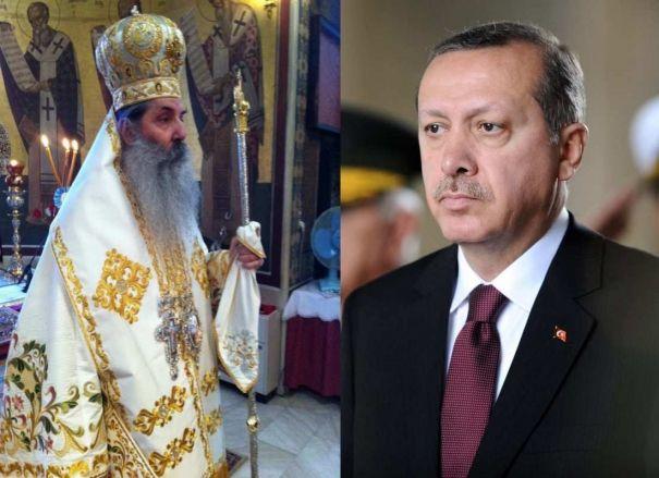 Μητροπολίτης Σεραφείμ: Ερντογάν βαπτίσου Χριστιανός!