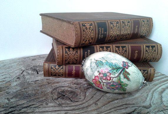 Easter egg romantic easter romantic egg by agnieszkamalik on Etsy, zł42.00