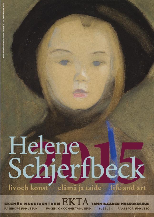 Flicka med blått band / Sininauhainen tyttö / Girl with Blue Ribbon (1909). Foto: Kansallisgalleria / Hannu Aaltonen  #EKTAMuseumcenter #HeleneSchjerfbeck #poster #affisch #Ekenäs #Raseborg