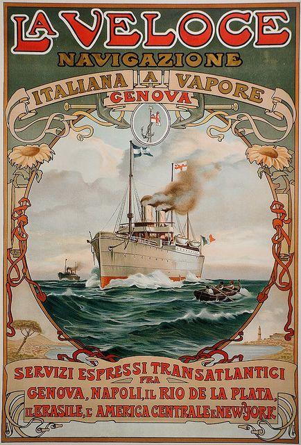 French vintage poster- Viajes & Transporte