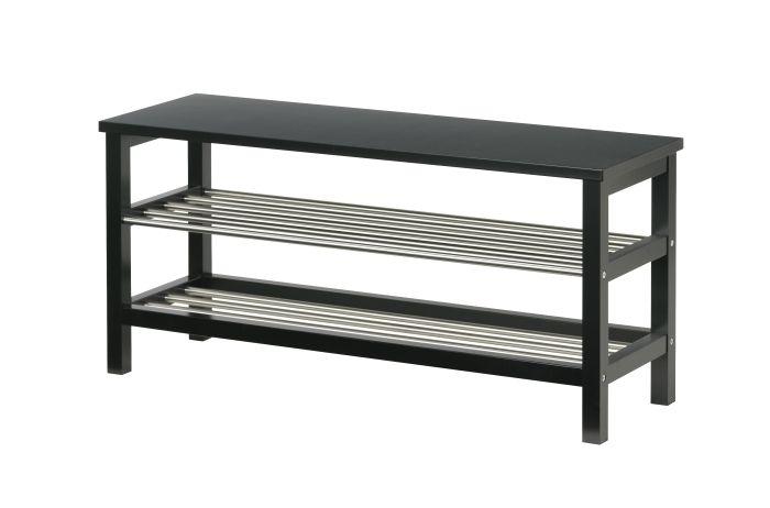 TJUSIG bench with shoe storage #IKEA #PinToWin
