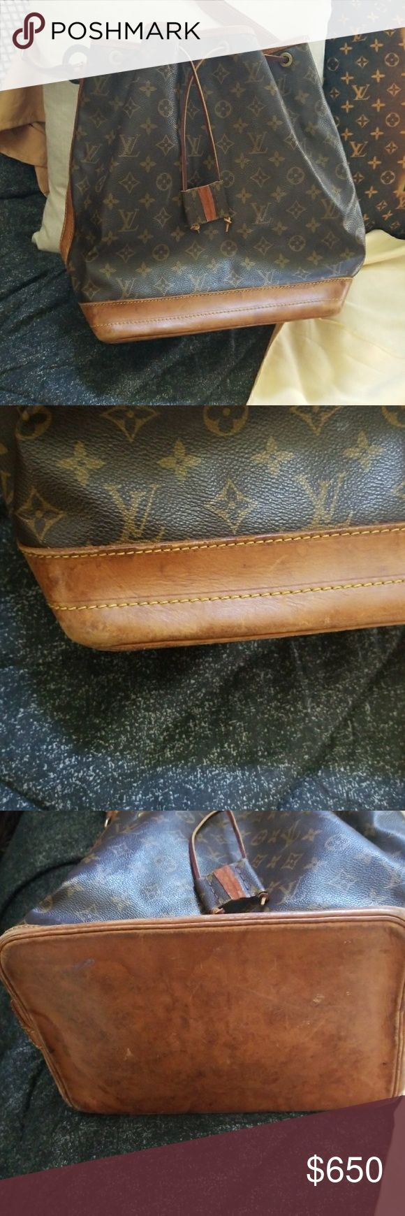 Gm noe authentic Louis vuition, vintage bag some water stains price negotiable Bags Shoulder Bags