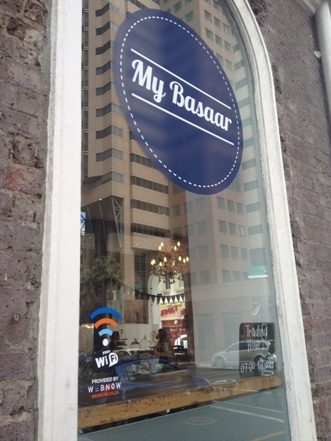 WebNow recently launched our first WiFi hotspot service at a great eatery called My Basaar located on the ground floor of our building at 16 Loop street in Cape Town. This service is provided free to patrons. My Basaar is a fantastic coffee and food destination so make sure you check them out - and enjoy browsing the web at the same time.