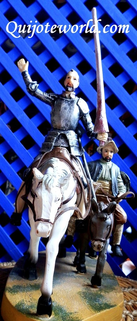 Figuras Don #Quijote de #LaMancha, figuras de resina para la #decoración de interiores. Piezas únicas hechas a mano, figuras para decorar, artesanía irrepetible. Traídas directamente de la imaginación de nuestros artesanos. Puedes ver nuestro catalogo en: http://www.quijoteworld.com/quijote-decoración-tienda/figuras-medianas-decoración/resina/ O visitanos en: www.quijoteworld.com
