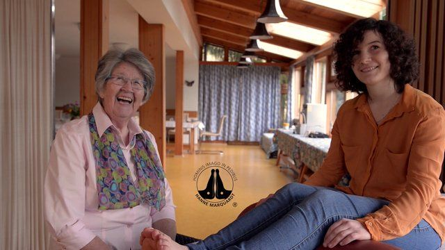 Hanne Marquardt Reflexology ® How wonderful to see this clip, sure would love it translated.