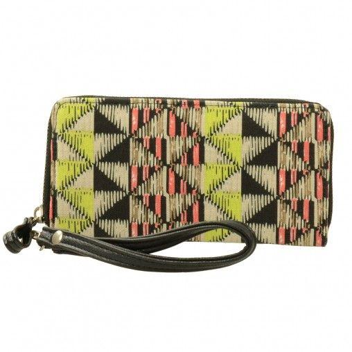 SACHA // aztec wallet/clutch € 19,95 #aztec