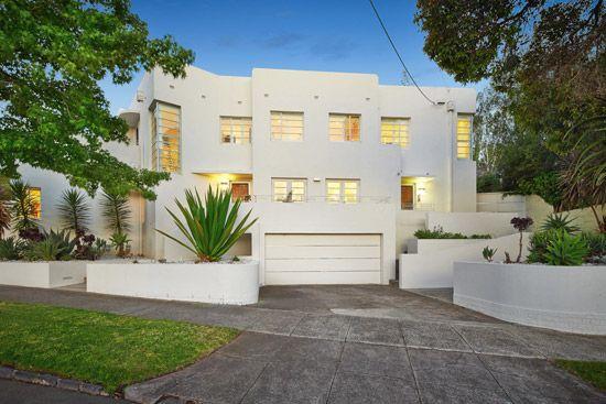 1930s four-bedroom modernist property in Melbourne, Victoria, Australia