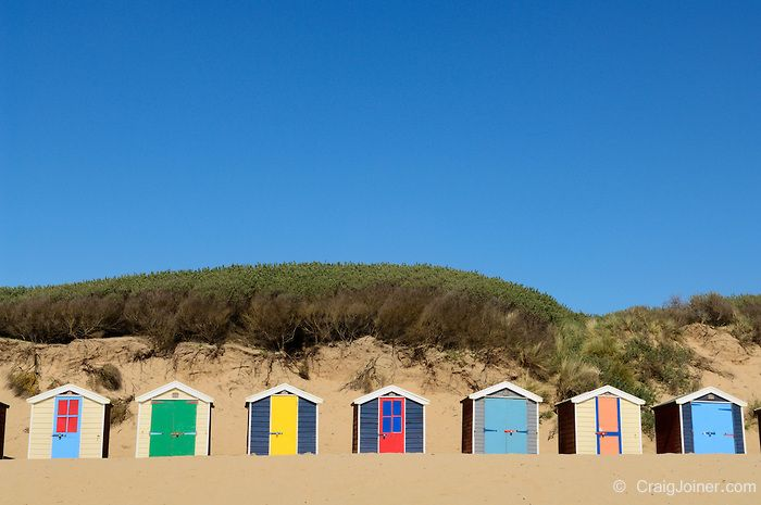 Saunton Sands Beach Huts, Devon