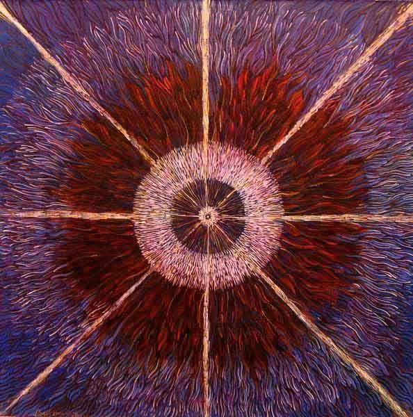 The birth of a new star   http://lolalonli.com/Paintings/Legends_of_Space/The_birth_of_a_new_star.html
