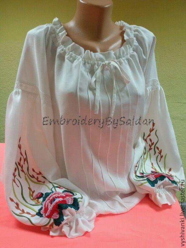 Этническая одежда ручной работы купить на Ярмарке Мастеров, Одежда