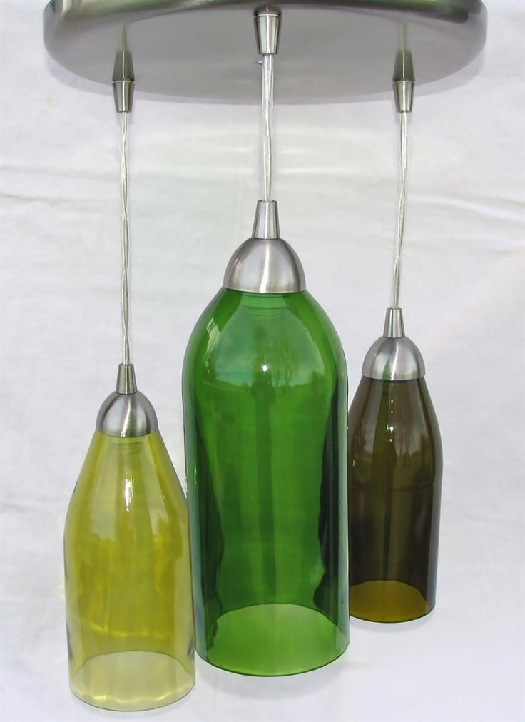 74 best images about reuse and recycle on pinterest for Lighted wine bottle craft