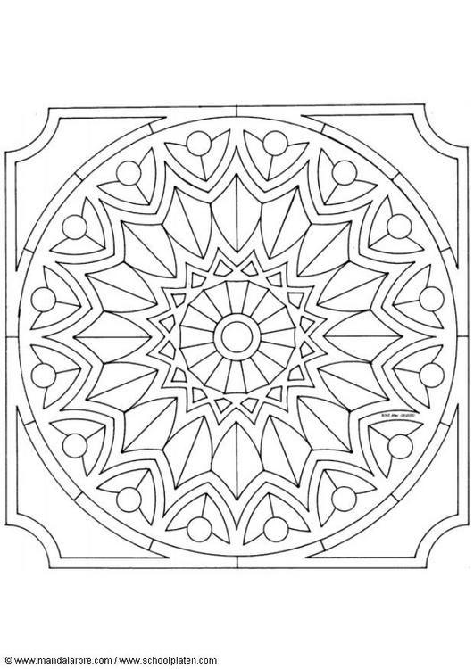 Mejores 107 imágenes de Mandalas en Pinterest | Plantillas, Mandalas ...